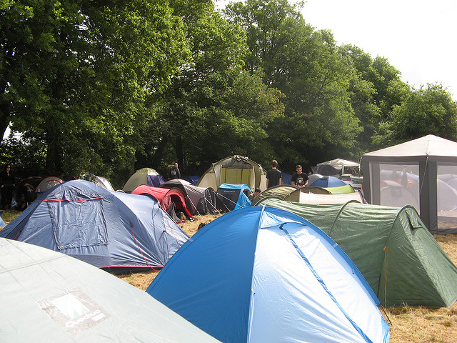 Camping tents image
