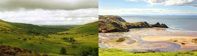 Brecon Beacons & Three Cliffs Bay images