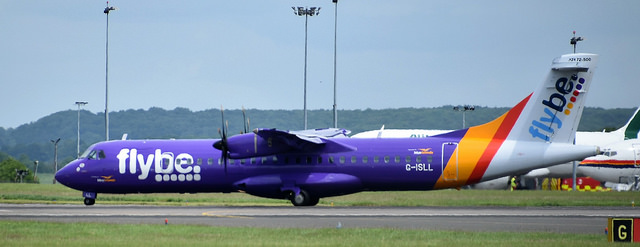 Flybe plane image