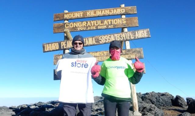 Kilimanjaro climb photo